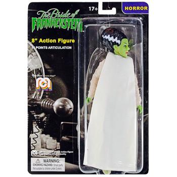 """The Bride of Frankenstein 8"""" MEGO Horror Action Figure"""