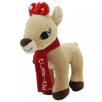 """Clarice Rudolph the Red Nosed Reindeer Plush 7"""""""