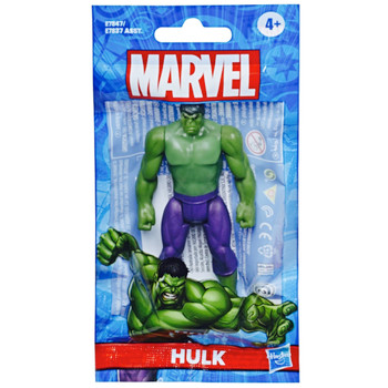 """The Hulk Marvel Articulated Action Figure 4"""" Bagged"""