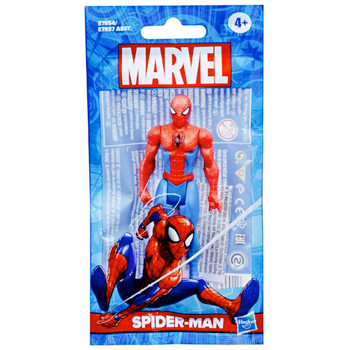 """Spider-Man Marvel Articulated Action Figure 4"""" Bagged"""