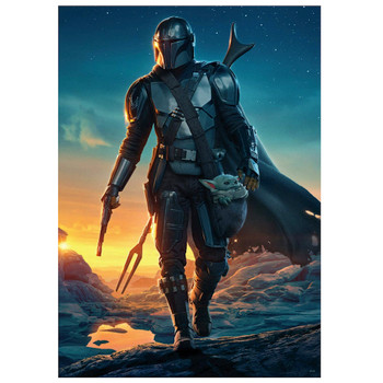 Star Wars the Mandalorian The Kid Comes with Me Puzzle 500 Pieces