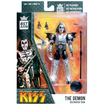 """KISS The Demon Destroyer Tour BST AXN Best Loyal Subjects Action Figure 5"""""""