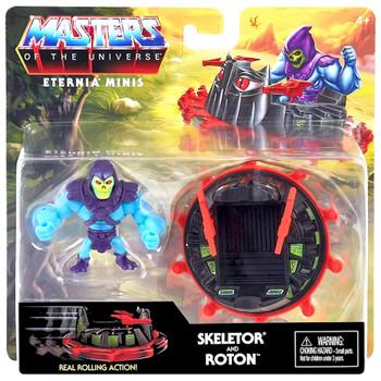 "Skeletor & Roton Masters of the Universe Eternia Minis Figure 2"""
