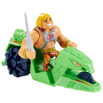 """He-Man & Ground Ripper Masters of the Universe Eternia Minis Figure 2"""""""
