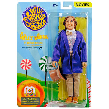 """Willy Wonka & The Chocolate Factory Classic 8"""" MEGO Action Figure"""