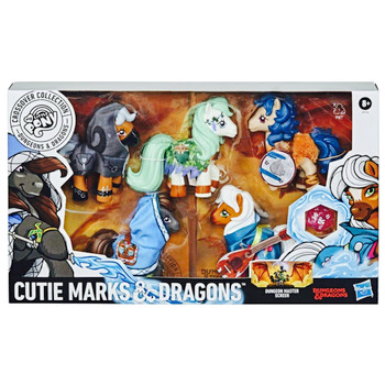 My Little Pony Dungeons & Dragons Crossover Collection Cutie Marks & Dragons