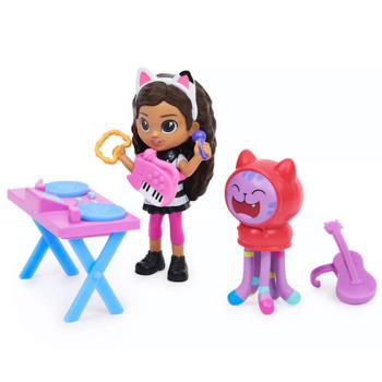 "Gabby's Kitty Karaoke Gabby's Dollhouse Play Set 3"""