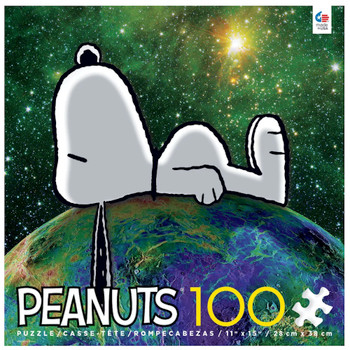 Peanuts Snoopy On Top of The World Puzzle 100 Piece