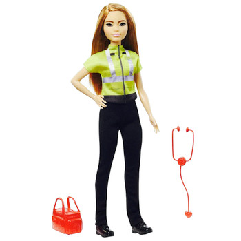 """Paramedic Barbie You Can Be Anything Doll 10.5"""""""