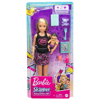 Barbie Skipper Babysitters Inc. Blonde Doll with Baby