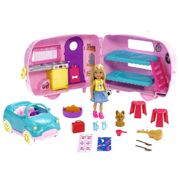 Chelsea Going Camping Set with Trailer & Car