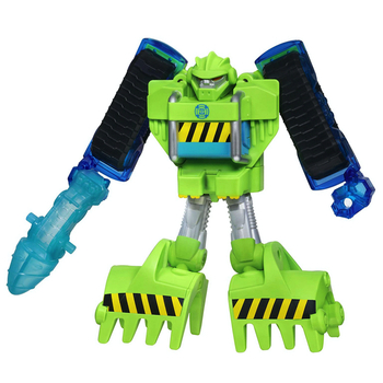 """Boulder the Construction Bot Energized Transformers Playskool 7"""" (New Loose)"""