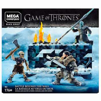 Battle Beyond the Wall Game of Thrones Mega Construx Black Series