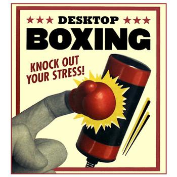 "Desktop Finger Boxing Running Press Miniature Kit 3"""