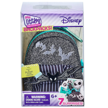 The Nightmare Before Christmas Disney Real Littles Mini Backpack with 7 Surprises