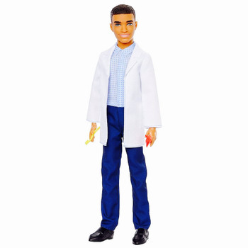 """Dentist Ken Barbie You Can Be Anything Doll 10.5"""""""