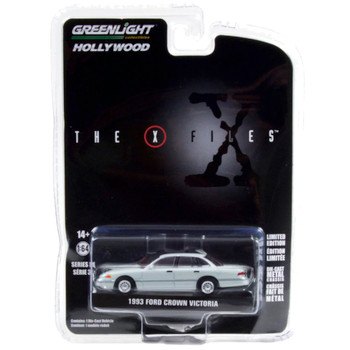 The X Files 1993 Ford Crown Victoria Greenlight Hollywood 1/64