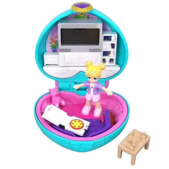 Polly Pocket Pizza Party Compact