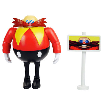 """Dr Eggman 30th Anniversary Sonic the Hedgehog Action Figure 4"""""""