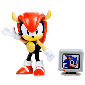 """Mighty 30th Anniversary Sonic the Hedgehog Action Figure 4"""""""