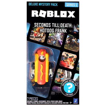 Seconds Till Death Hotdog Frank Roblox Deluxe Mystery Pack