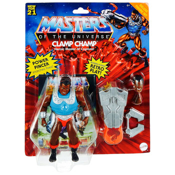 """Clamp Champ Masters of the Universe Deluxe Action Figure 5.5"""""""