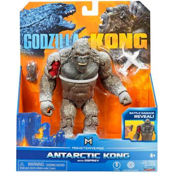 "Antarctic Kong with Osprey & Battle Damage Godzilla vs Kong Figure 6"""