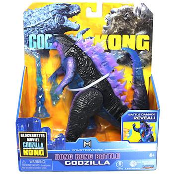 """Godzilla Hong Kong Battle Godzilla vs Kong Battle Damaged Figure 6"""""""