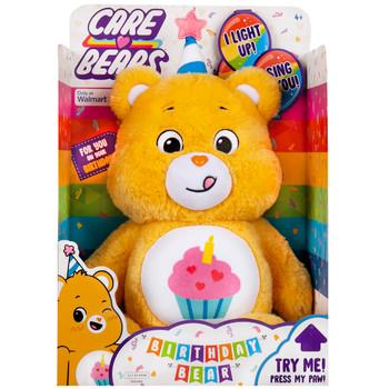 "Birthday Bear Plush Care Bear 14"" with Lights & Sounds"