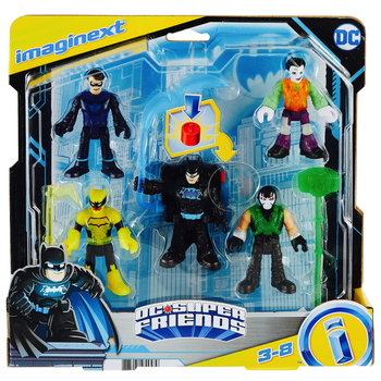 """DC Super Friends Bat Tech Multi-Pack Imaginext Figures 2.5"""""""