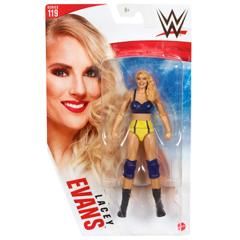 """Lacey Evans WWE Wrestling Figure 6"""" Series 119 Yellow"""