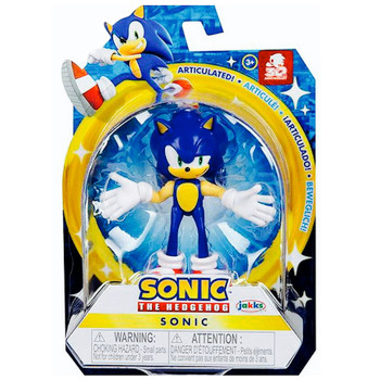 """Sonic the Hedgehog Articulated Action Figure 2.5"""" 30th Anniversary"""