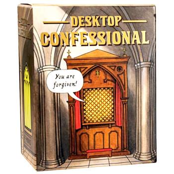 "Desktop Confessional Running Press Miniature Kit 3"""