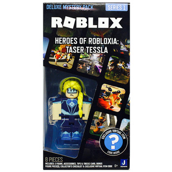 Heroes of Robloxia Taser Tessla Roblox Deluxe Mystery Pack