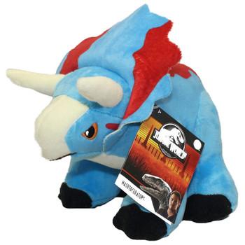 "Triceratops Jurassic World Plush Dinosaur 6"""