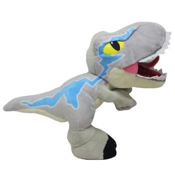 "Velociraptor Blue Jurassic World Plush Dinosaur 6"""
