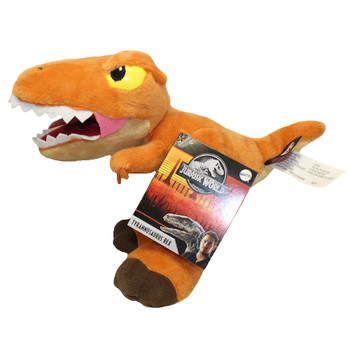 "Tyrannosaurus Rex Jurassic World Plush Dinosaur 6"""