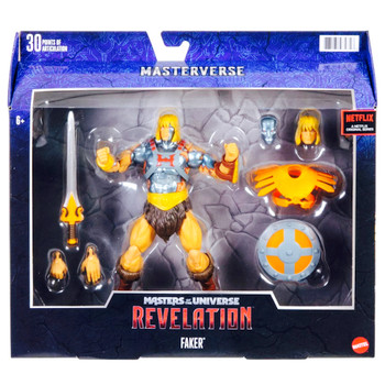 """Faker  Masters of the Universe Revelation Action Figures 7.5"""""""