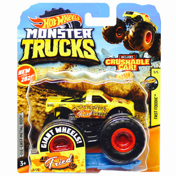 Monster Trucks All Fried Up Fast Foodie 1/64