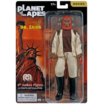 """Dr Zaius Planet of the Apes Mego Action Figure 8"""""""