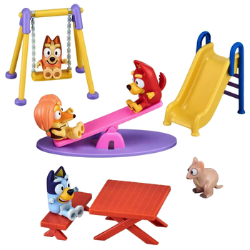 Bluey & Friends Bluey Deluxe Park Playset