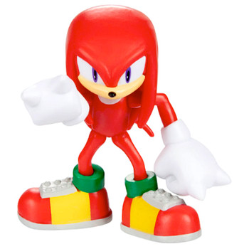 """Knuckles Sonic the Hedgehog Articulated Collectable Figure 2.5"""""""