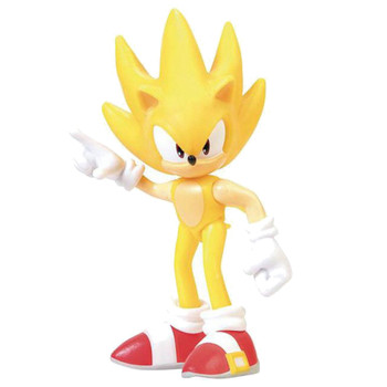 """Super Sonic the Hedgehog Articulated Collectable Figure 2.5"""""""
