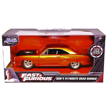 Fast & Furious Dom's Plymouth Road Runner Jada Diecast 1/32