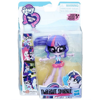 """Twilight Sparkle Beach Collection My Little Pony Equestria Girl 4.5"""""""