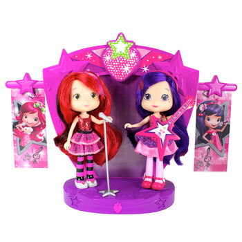 Strawberry Shortcake Sweet Beats Stage Playset with Sounds