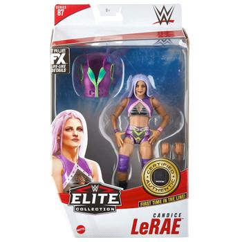 "Candice LeRae WWE Elite Wrestling Figure 6"" Series 87"