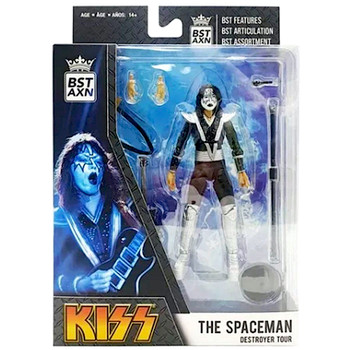 """KISS The Spaceman Destroyer Tour BST AXN Best Loyal Subjects Action Figure 5"""""""