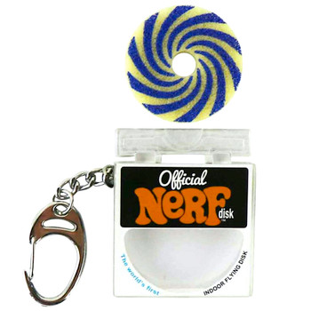 World's Coolest Official Nerf Frisbee Keychain