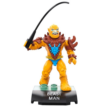 Beast Man Masters of The Universe Mega Construx Figure 22 pcs